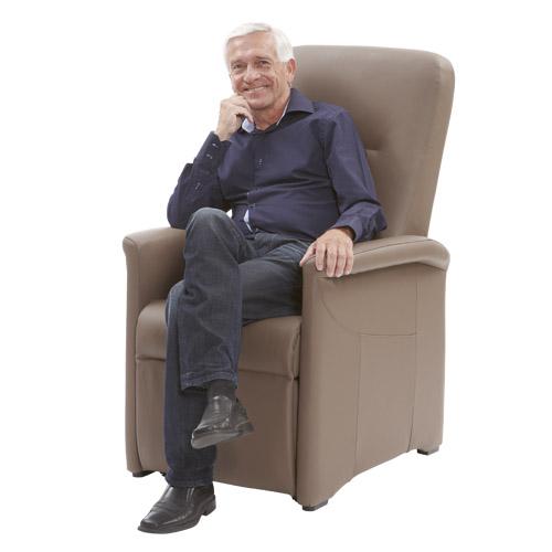 Sta op stoel A 600 M leer model