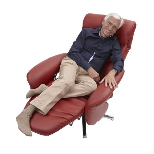 Relaxstoel  S 51 leer model relax 6