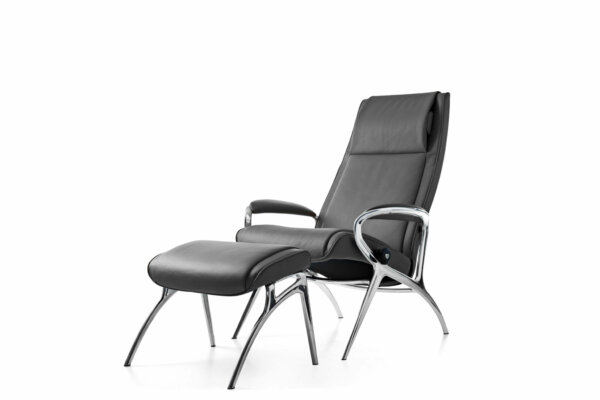 Stressless_James_Alu_Bat Grey