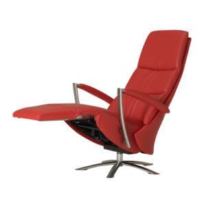Motorisch verstelbare relaxstoel met kantelfunctie