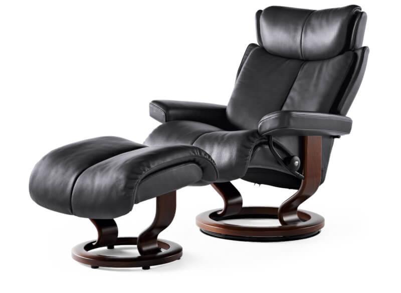 Magic Sessel mit Hocker_Paloma Rock_Braun