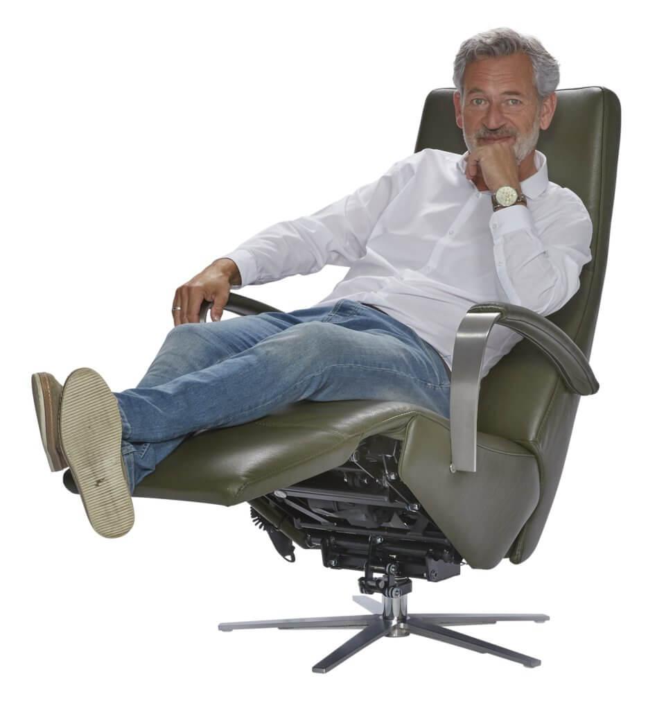 Zoekt u een stoel voor lange mensen? Tot lichaamslengte 220 cm mogelijk