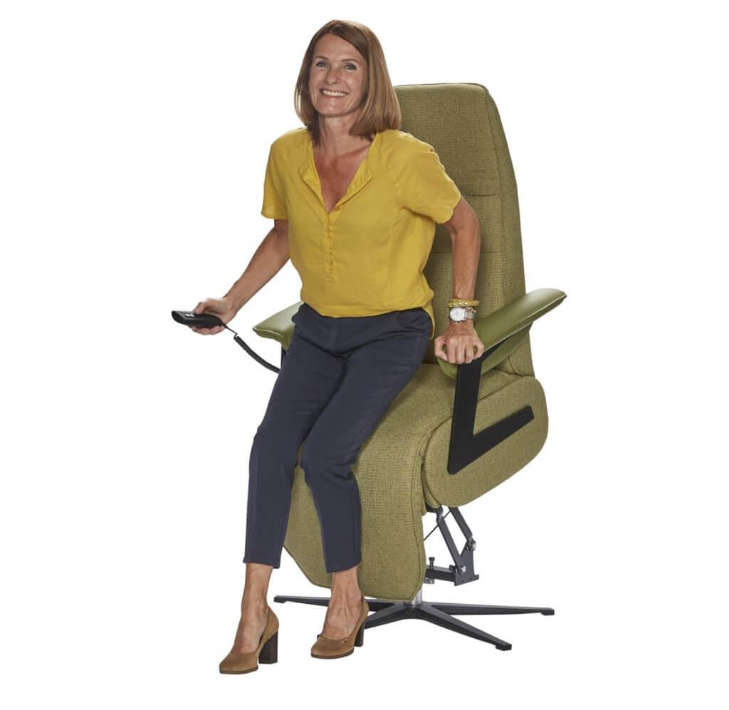 Wat zijn de voordelen van een sta op stoel