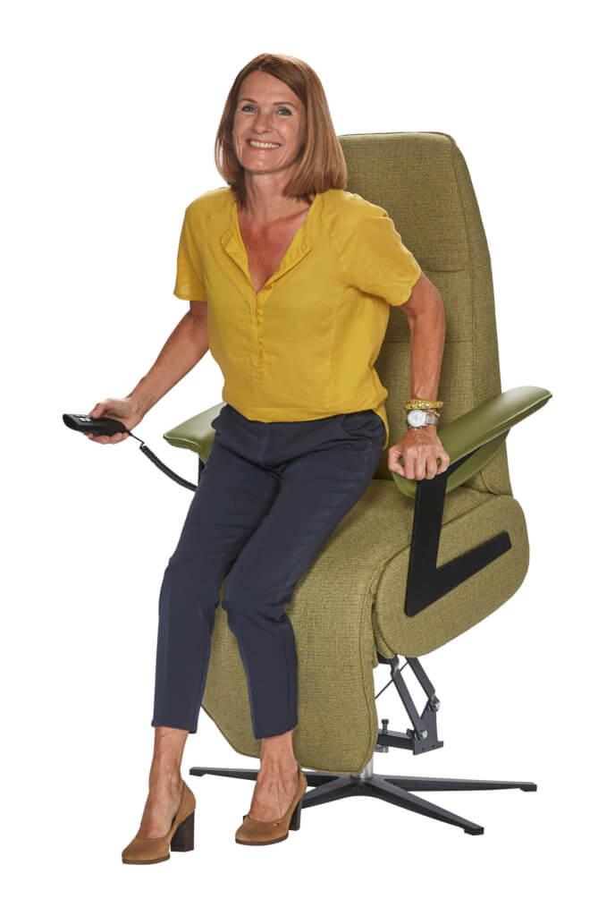 Seniorenstoel met optimaal zitcomfort!
