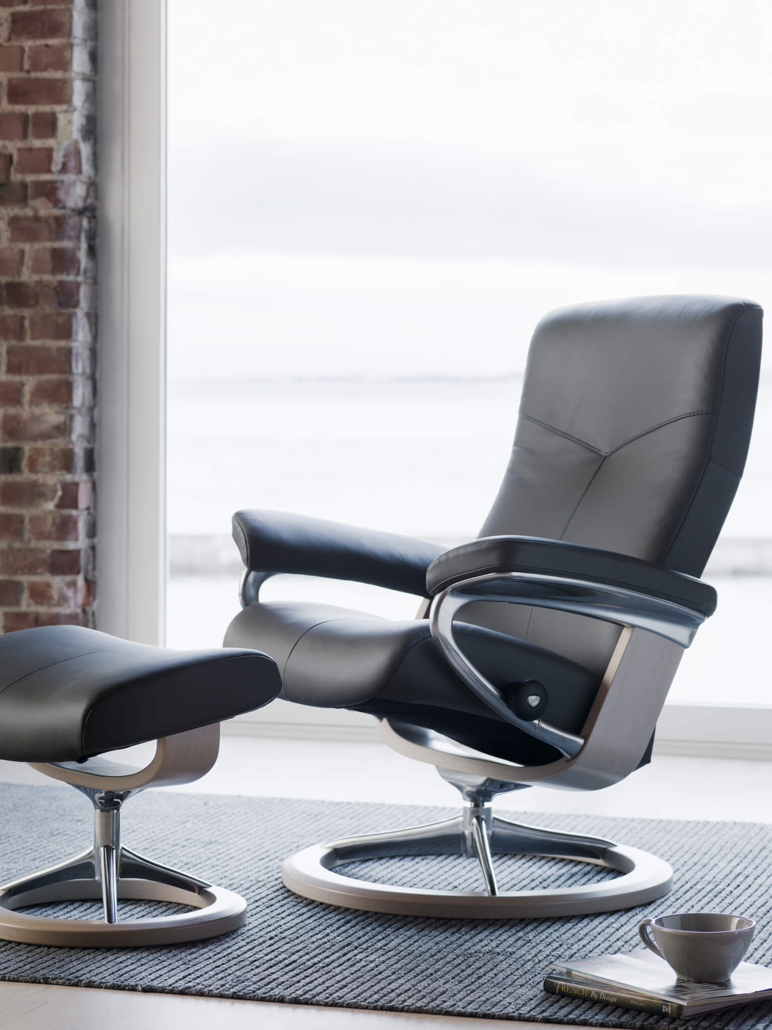 Stressless Dover_Signature_Whitewash